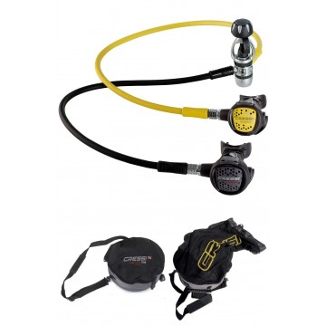 SET XS COMPACT AC2 INT REGULATOR + XS COMPACT OCTOPUS + REGULATOR BAG WITH MESH