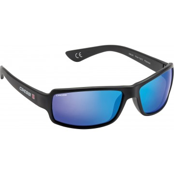 NINJA BLUE MIRRORED LENSES SUNGLASSES