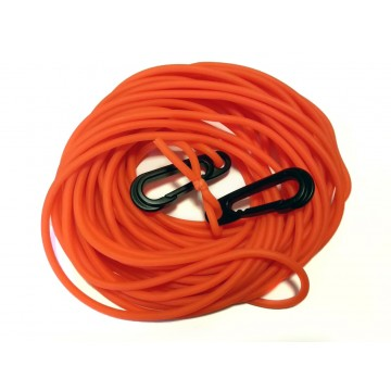 ORANGE ELASTIC FLOATING ROPE 4MM (12M)