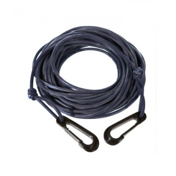 BLACK ELASTIC FLOATING ROPE 4MM (12M)