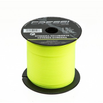 YELLOW DYNEEMA CABLE REEL WITH SOUL 1,5MM (50M)