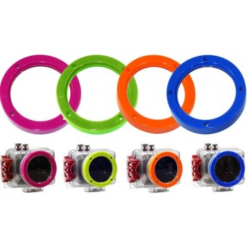 COLOURED LENS RINGS (4 PCS)