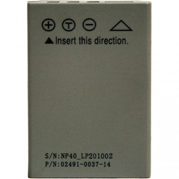 RECHARGEABLE BATTERY FOR THE IC-12 CAMERA