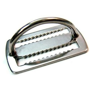 STAINLESS WEIGHT KEEPER WITH D RING