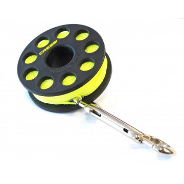 REEL SPOOL WITH SNAP HOOK